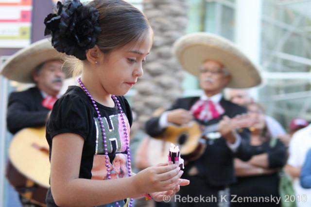 Día de los Muertos in Mesa, Ariz. - 31 October 2010
