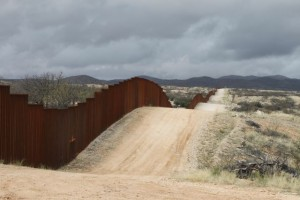 the U.S.-Mexico border fence near Sasabe, Ariz. – 20 February 2010