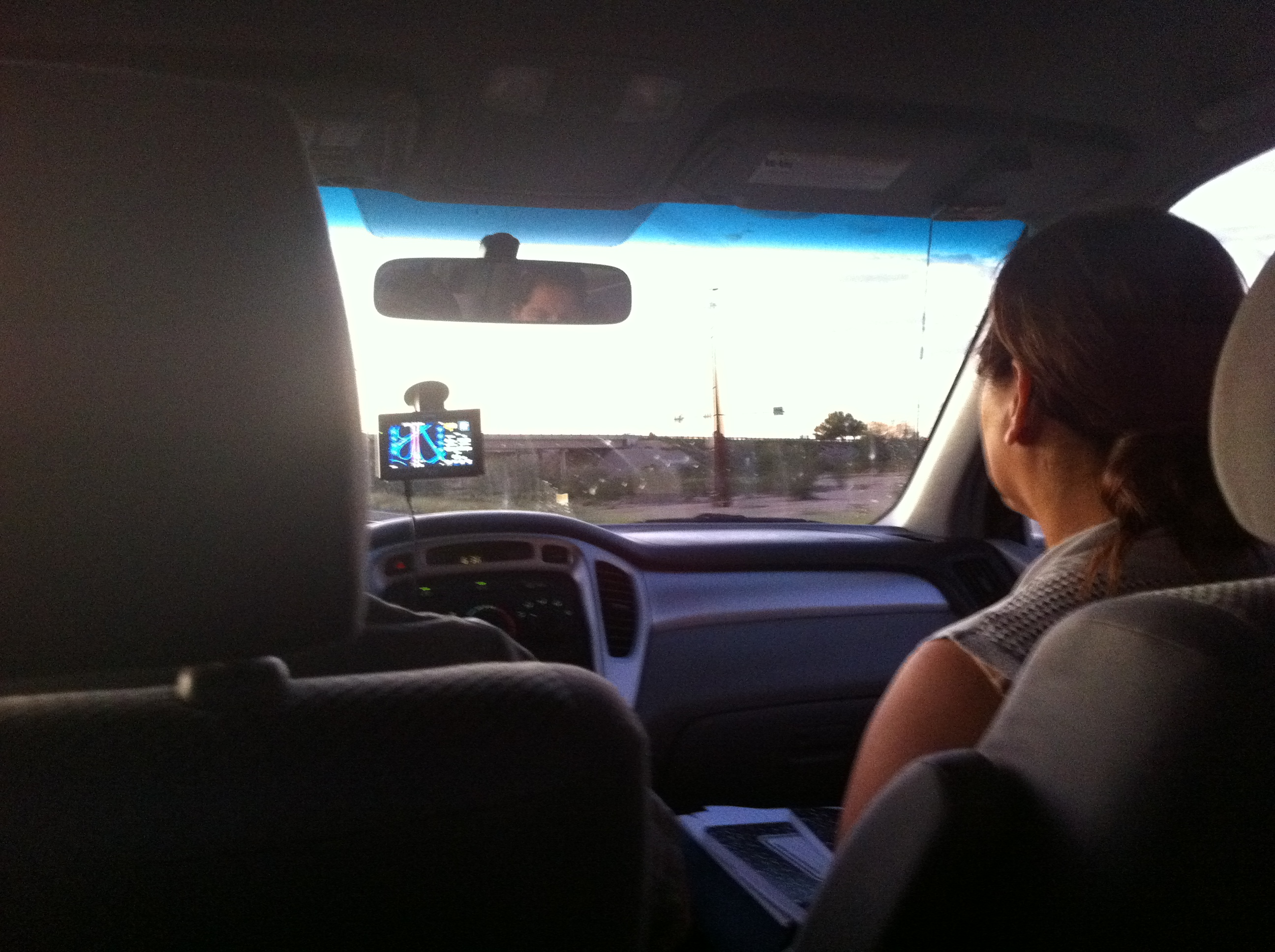 Eddie & Monse drive back to Tucson from searching in Benson