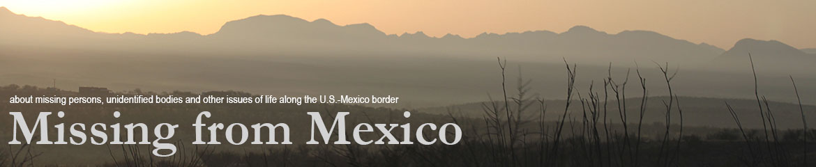 More missing persons - Missing from MexicoMissing from Mexico